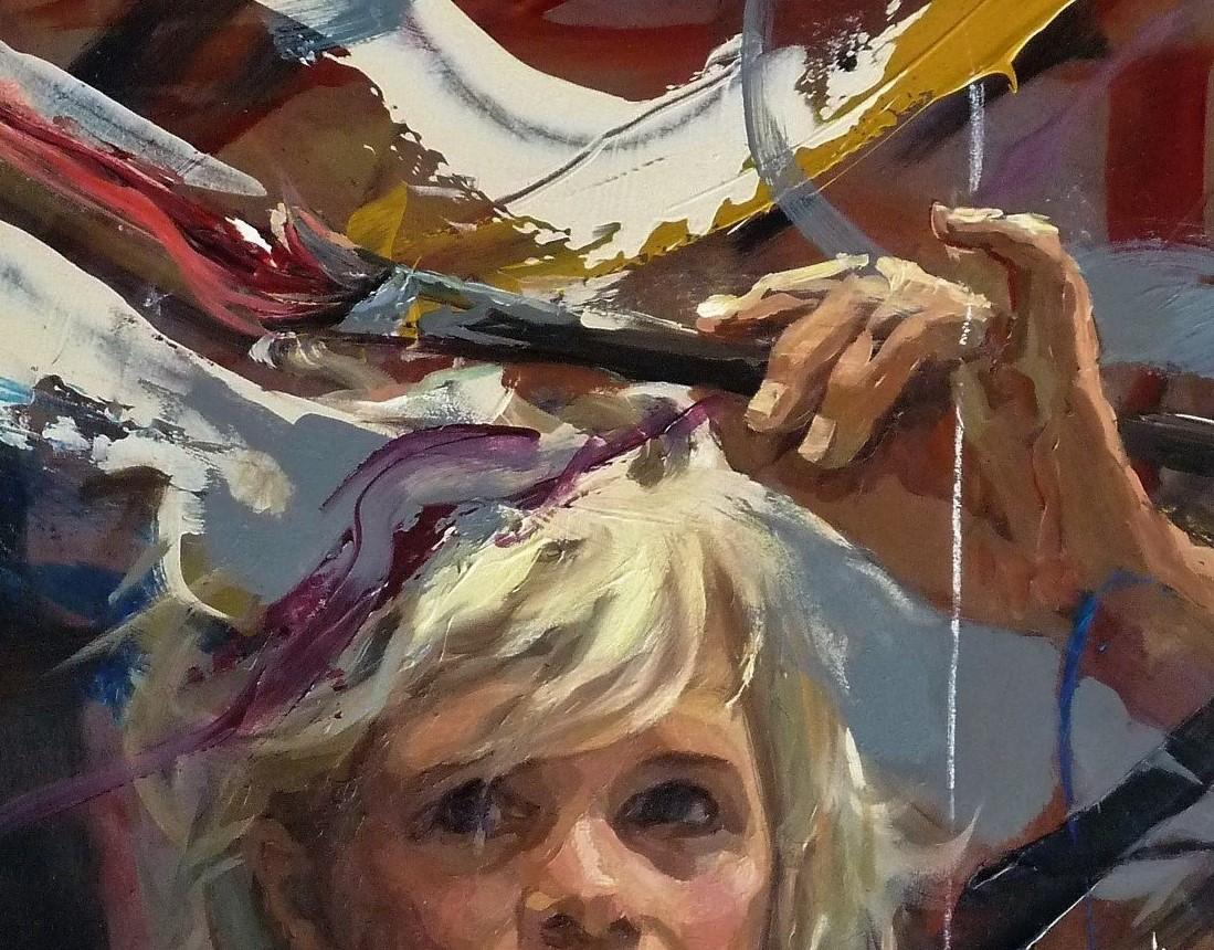 Cursus 'De belangrijkste fenomenen bij het maken van een schilderij' door Mitzy Renooy