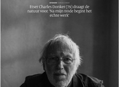 Fantastisch interview Charles Donker in de Volkskrant
