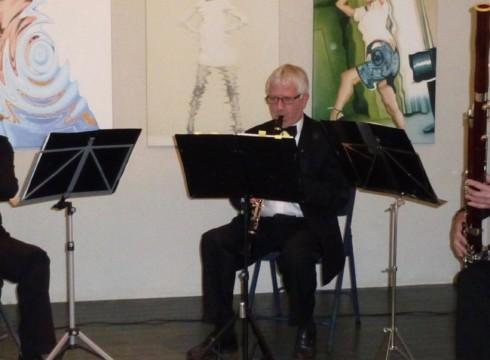22 oktober speelt ' Rossini trio' bij opening expostie van Peter Durieux