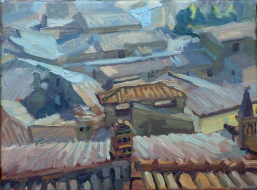 Daken van Bolsena, oude stad
