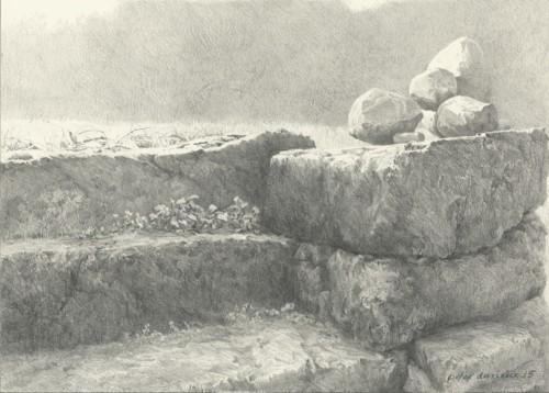 Stilleven met stenen