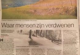 Eindhovens Dagblad over 'expositie van Peter Durieux bij Galerie Bonnard'