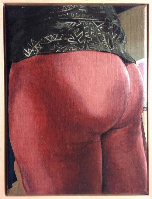 The Butts of my Facebook Friends (serie: 2 van 15)