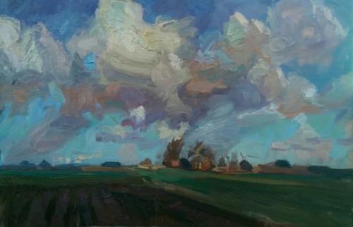 Wolken boven Thesinge