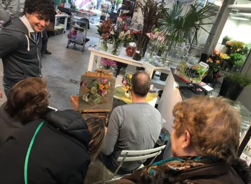 Demonstraties door Eric Schutte, Keimpe van der Kooi en Gineke Zikken