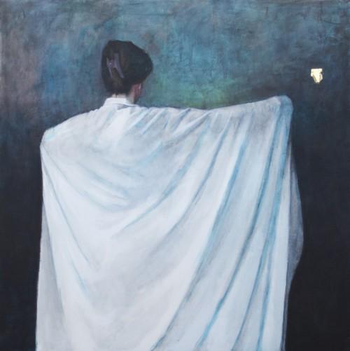 Vrouw met doek