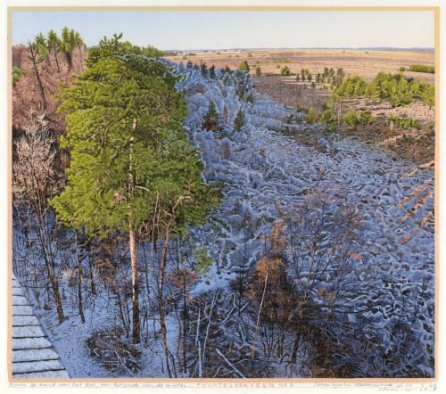 De Fochtel no. 2 Boven de rand van het bos