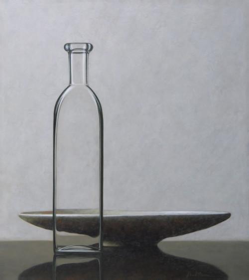 Compositie fles schaal