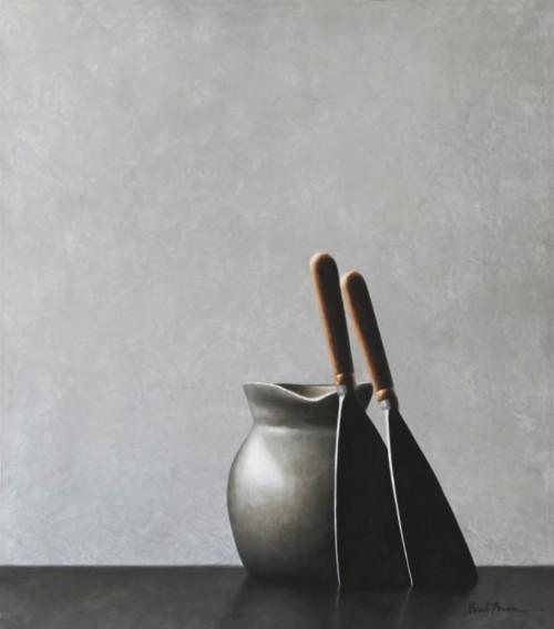 Compositie in grijs