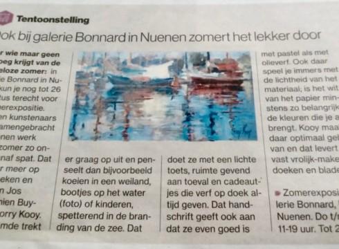 Eindhovens Dagblad over Zomerexpositie