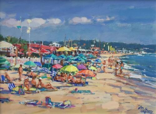 La plage de Saint Tropez
