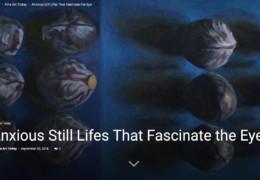 Fantastische recensie in Amarikaans magazine 'Fine Art Connoisseur'