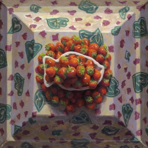Schaaltje Aardbeien met Aardbeien II