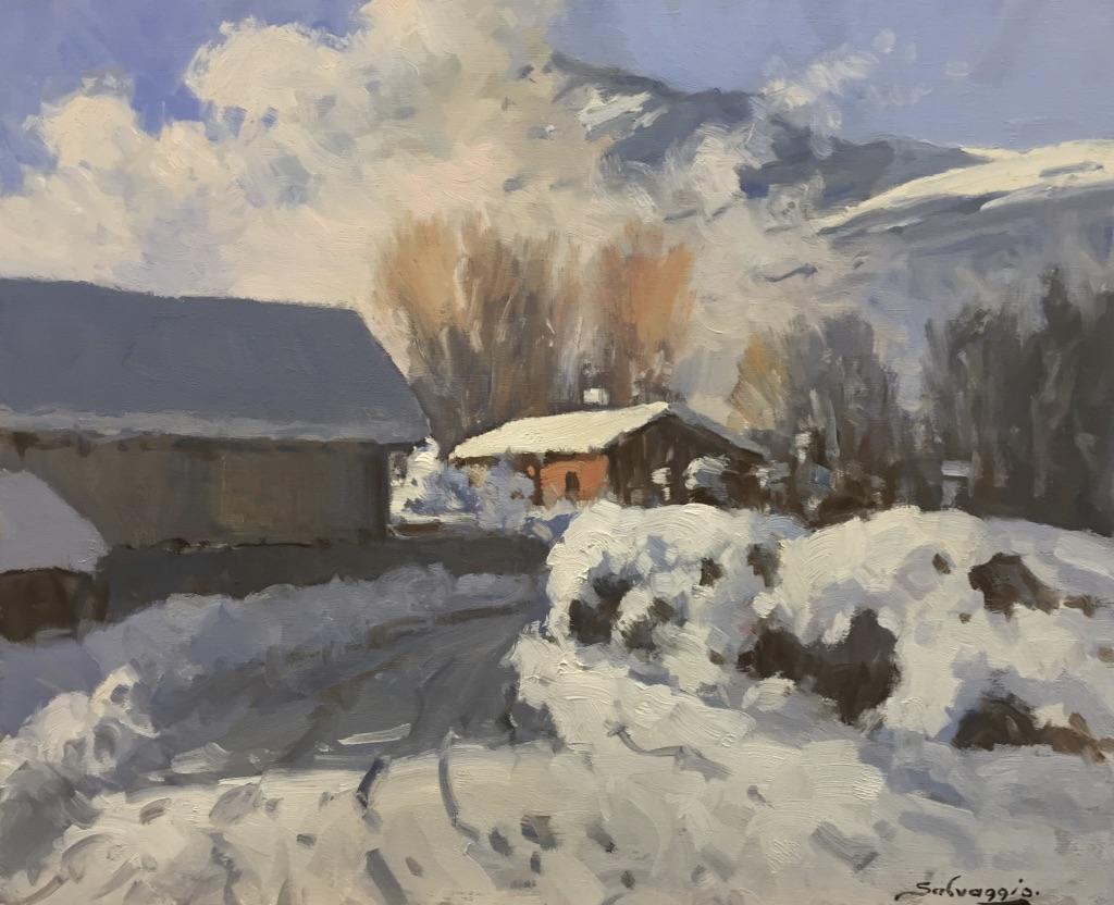 Neige aux Carroz