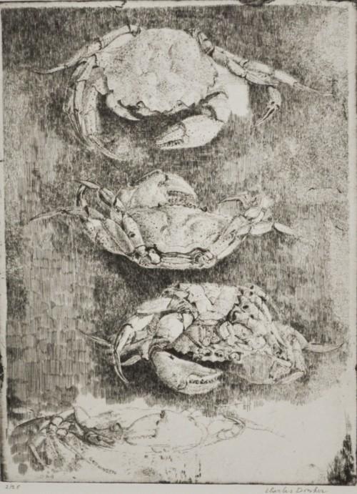 Drie krabben