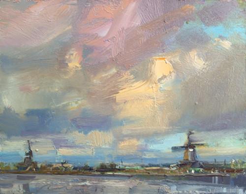 Landscape, Windmills Zaandam