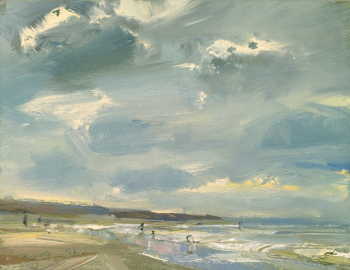 Seascape, Clouds and Storm