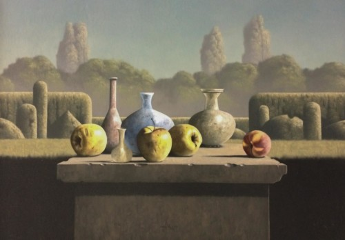 Appels en Romeins glas