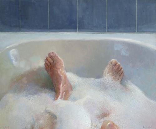 Voeten in bad