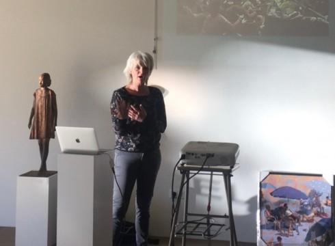 Zeer geslaagde cursus door Mitzy Renooy bij Galerie Bonnard