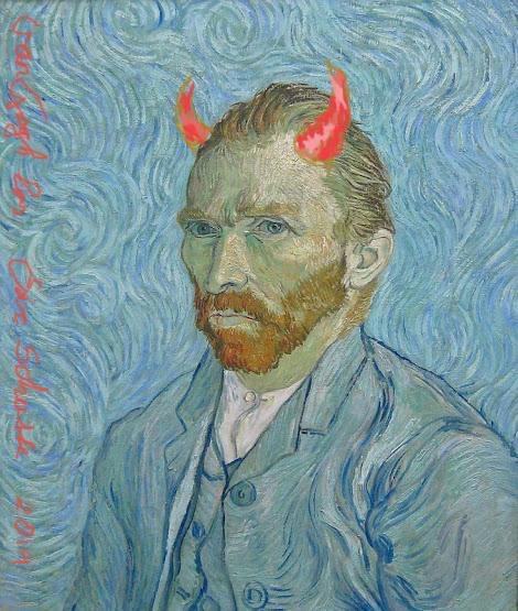 Lezing door kunstenaar Eric Schutte: 'Van Gogh los'