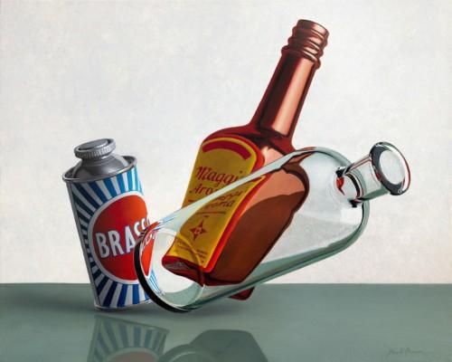 Composition Brasso, Maggi, bottle
