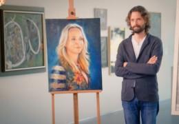 Kunstenaars van Sterren op het Doek bij Galerie Bonnard!