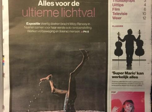 Eindhovens Dagblad lovend over solo Mitzy Renooy!