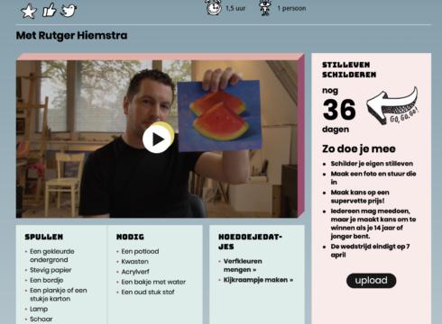 Klokhuis maakt uitzending met Rutger Hiemstra