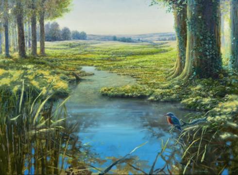 Nieuwe schilderijen van Ger Stallenberg.