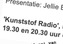 Egbert Modderman te gast bij Radio Kunststof
