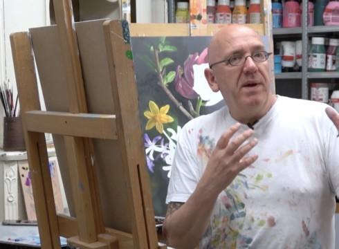 Portret van kunstenaar JP Marsman