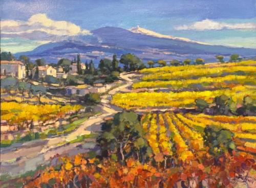 Mont Ventoux route Vaison la Romaine