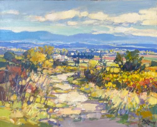 Herfst Luberon Gordes (Provence)