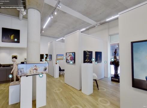 Vanuit thuis in 3D door de galerie wandelen, en alle kunst bekijken van 'Realisme 2020'.
