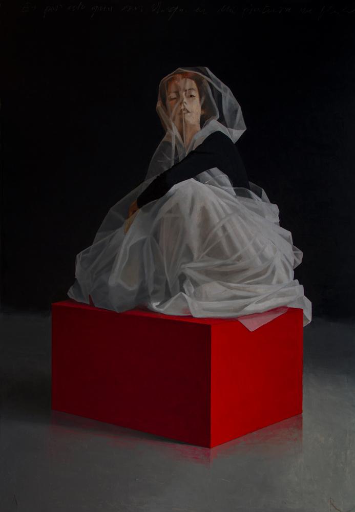 Vrouw op Sokkel