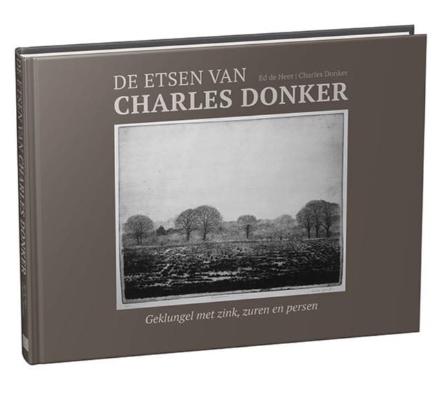 Charles Donker 80. Boek en etsen.