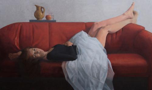 Vrouw met stilleven