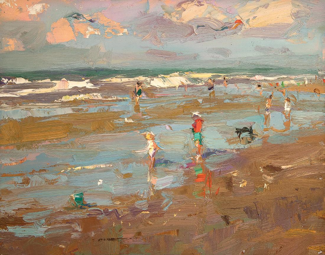 Seascape, Beach View, Reds Everywhere