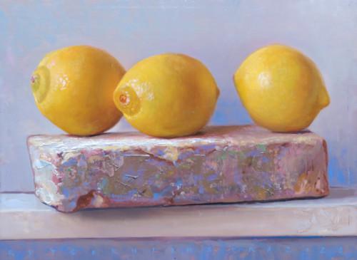 Drie kleine citroenen
