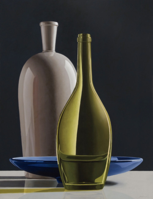 Composition with Blue  Bowl