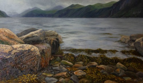 Oude boothelling (Stordal Noorwegen)
