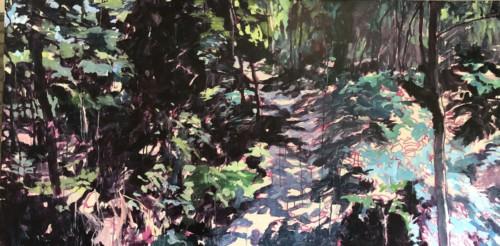 Landschap met Colette IV