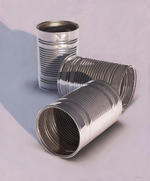 Composition with three cans