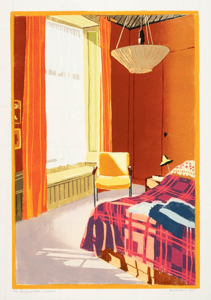 Euvelgunnerheem, slaapkamer