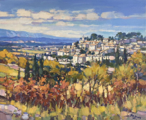 Village Bonnieux, Provence