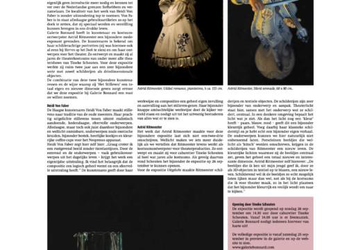 De Kunstkrant over de expositie 'Uitgelicht'